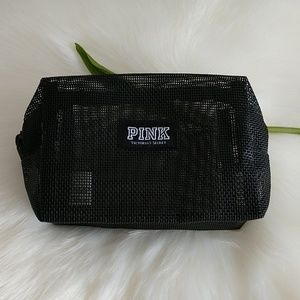 Pink Victoria's Secret Cosmetic Pouch